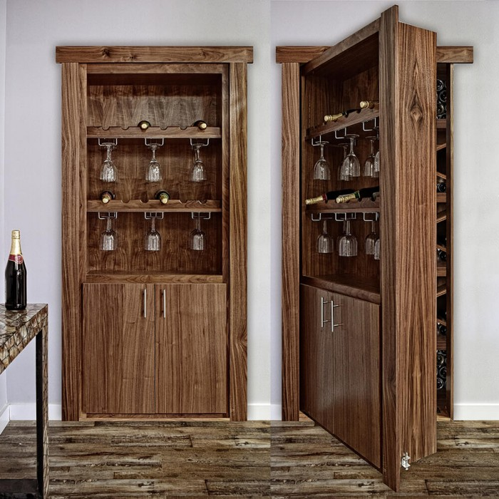 Wine Rack Door