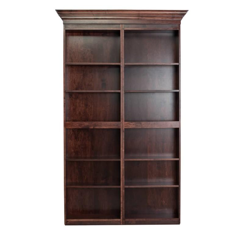 surface mount bookcase not a door the murphy door. Black Bedroom Furniture Sets. Home Design Ideas