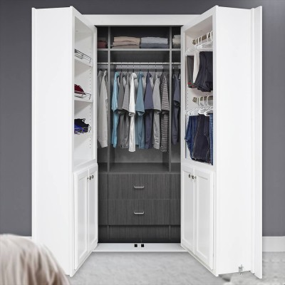 4' Paint Grade White Reversed Closet Door