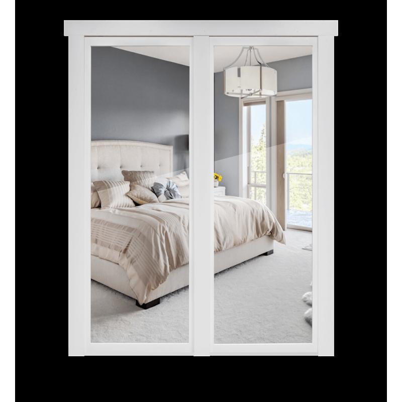 french style closet door reversed murphy door inc. Black Bedroom Furniture Sets. Home Design Ideas