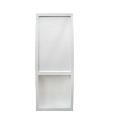 """32"""" Paint Grade White Dual Access Flush Mount Hidden Door"""
