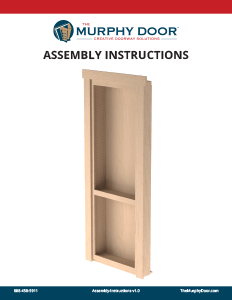 Click the image below to download the Assembly Instructions.  sc 1 st  Murphy Door & Flush Mount Cabinet Door Package Hidden Door | The Murphy Door