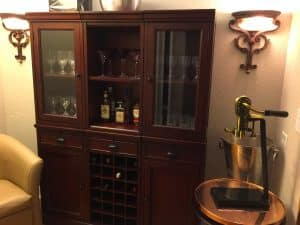 hidden nook wine storage