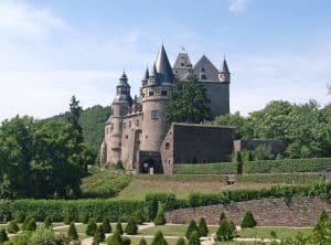 Exterior image of Castle Brunwald