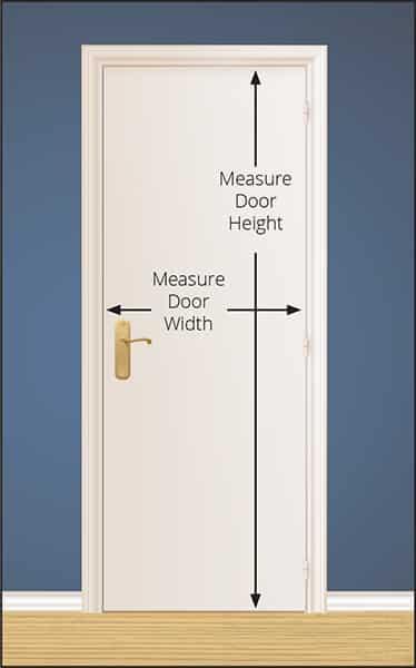 Use the table below to determine which door size you should order based on the measurement of your existing door.  sc 1 st  Murphy Door & Measuring Door Size \u0026 Rough Opening | Murphy Door
