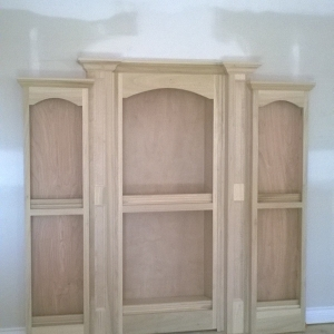 Closed Custom Door w/ Murphy Door Hinges