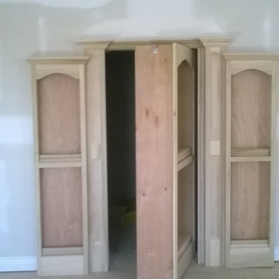 Opening Custom Door w/ Murphy Door Hinges