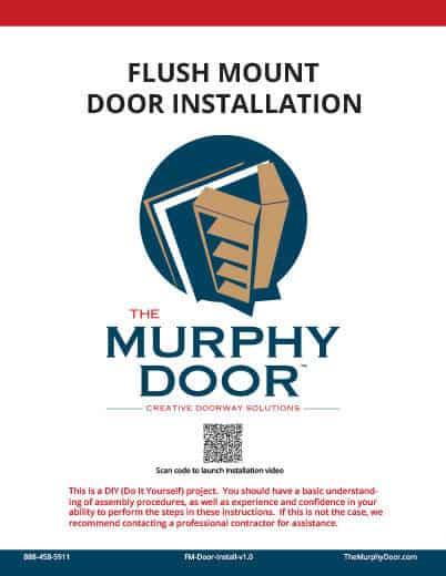 Flush Mount Door Installation
