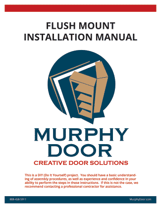 Flush Mount Installation Manual