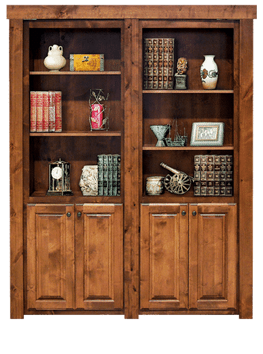 French Style Hidden Bookcase Door Model