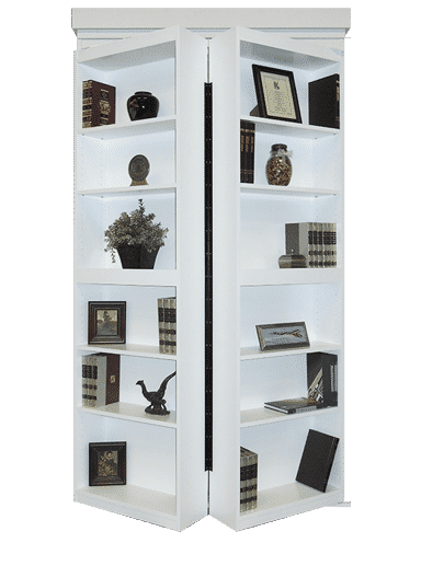 Surface Mount Hidden Bookcase Door Model