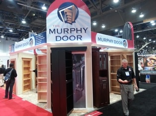 Flush Mount Hidden Door Hardware Amp Prebuilt Door Murphy Door