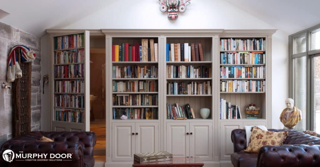 Styling Amp Concealing Your Bookcase Murphy Door Murphy Door